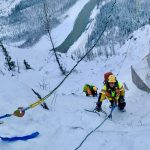 Climbing the rungs NW BC