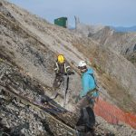 3m anchor drilling Fernie ObellX-plus installation