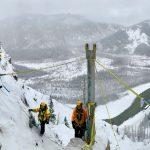 Gazex maintenance work in challenging conditions